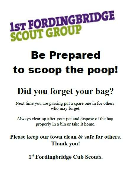 Be Prepared To Scoop The Poop!